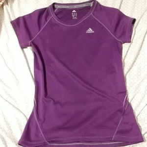 Purple Adidas T-Shirt
